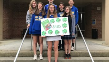 Student Council Raises Money for MDA in Honor of TSA Graduates